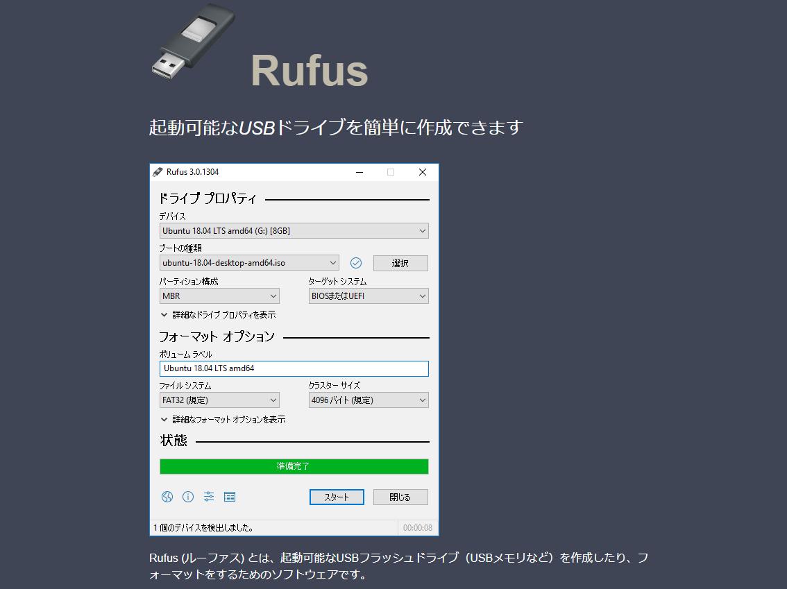 Rufus作者ページ