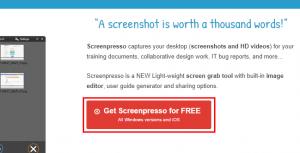 Screenpressoをダウンロードする