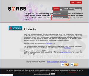 SORBS公式サイト