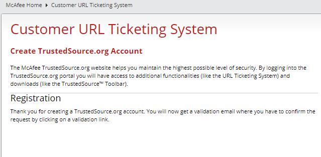 メールに記載されたURLをクリック