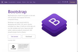 Bootstrap公式配布サイト