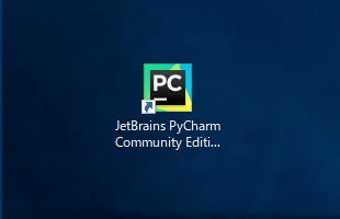 PyCharmを起動