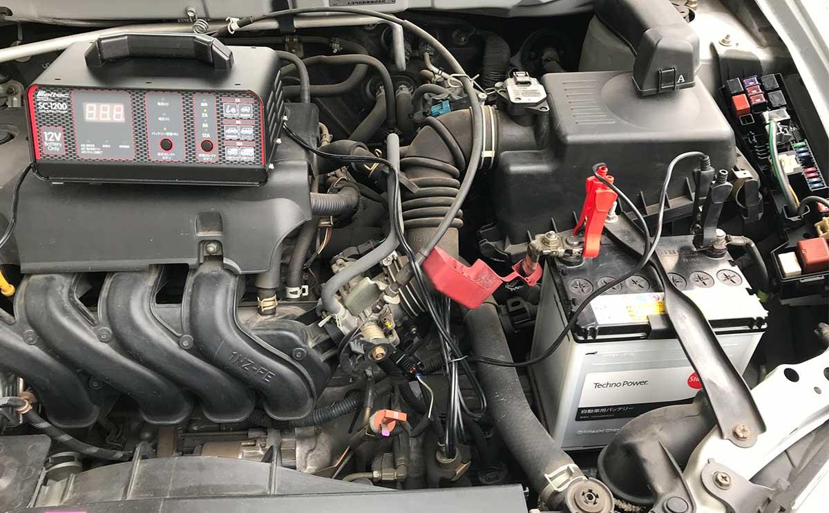 弱った車のバッテリーを復活させるまでの軌跡