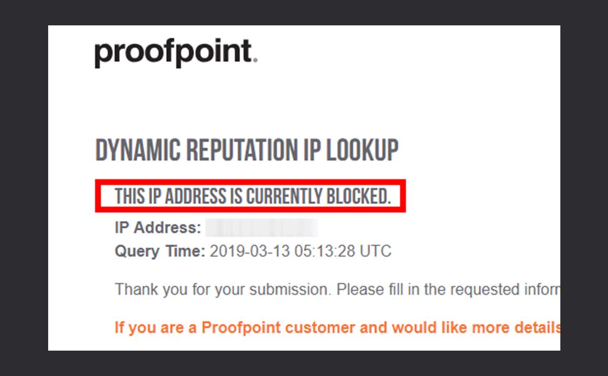 proofpointでiCloud.comへのメールがブロックされた際の解除方法