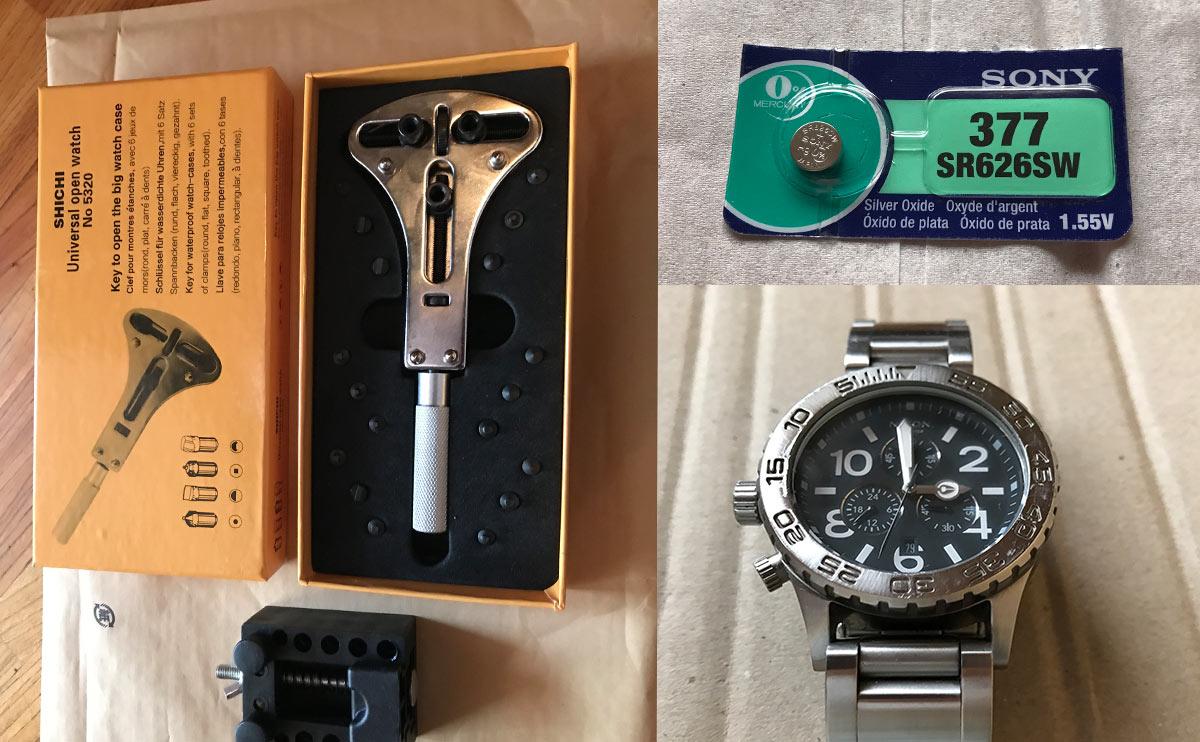 腕時計の電池を自分で交換する方法【DIY】