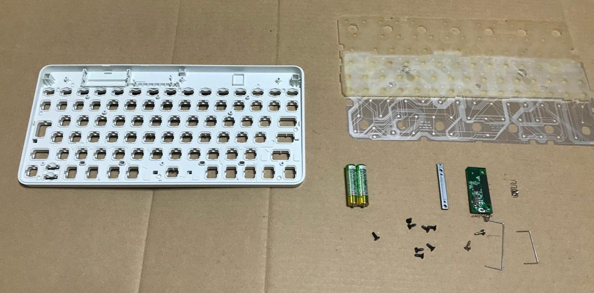 キーボード組み立て作業(1)