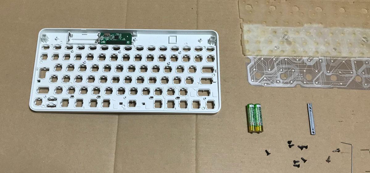 キーボード組み立て作業(2)