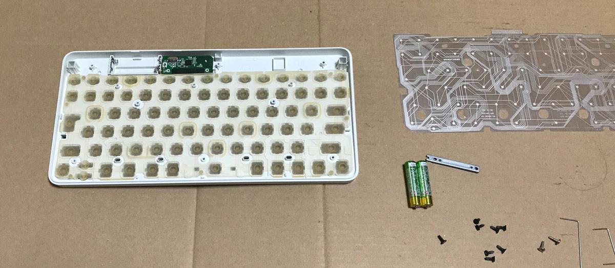キーボード組み立て作業(3)
