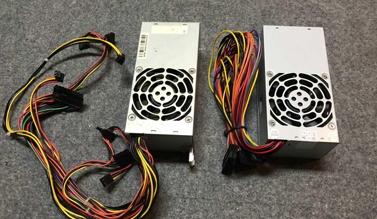 新旧の電源ユニットを比較(1)